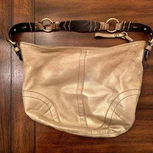 Coach Limited Edition Suede Shoulder Bag Purse